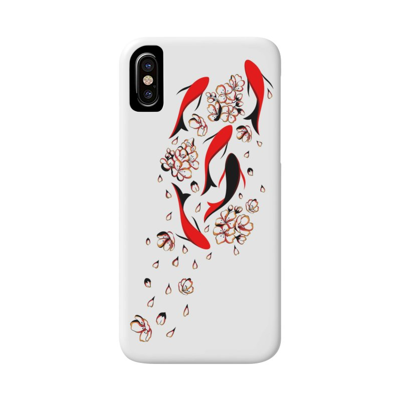 Women Warrior (4) - Fishes in the pond Accessories Phone Case by Eastern Cloud's Artist Shop