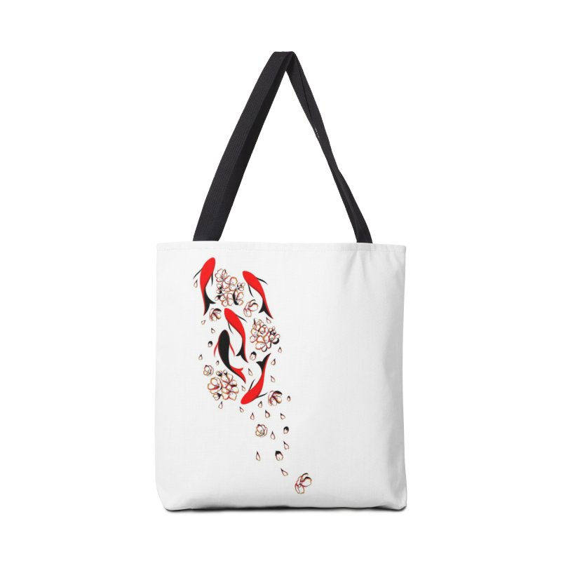 Women Warrior (4) - Fishes in the pond Accessories Bag by Eastern Cloud's Artist Shop