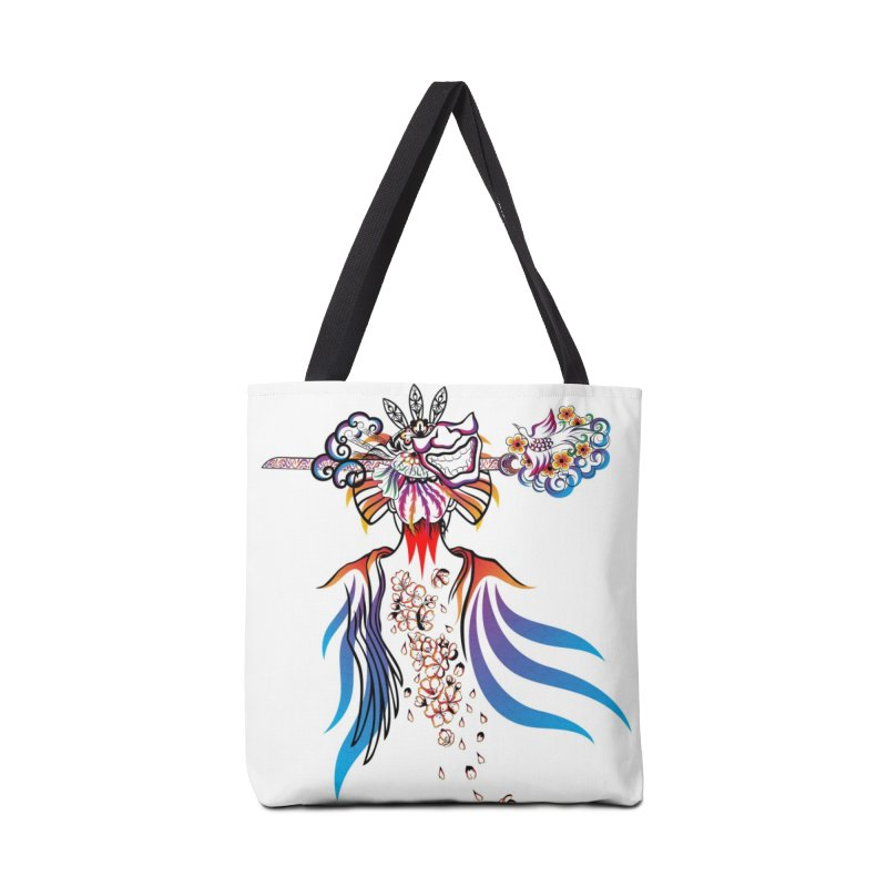 Women Warrior (1) Accessories Bag by Eastern Cloud's Artist Shop