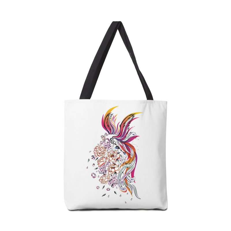 Women Warrior (3) - The Phoenix Accessories Bag by Eastern Cloud's Artist Shop
