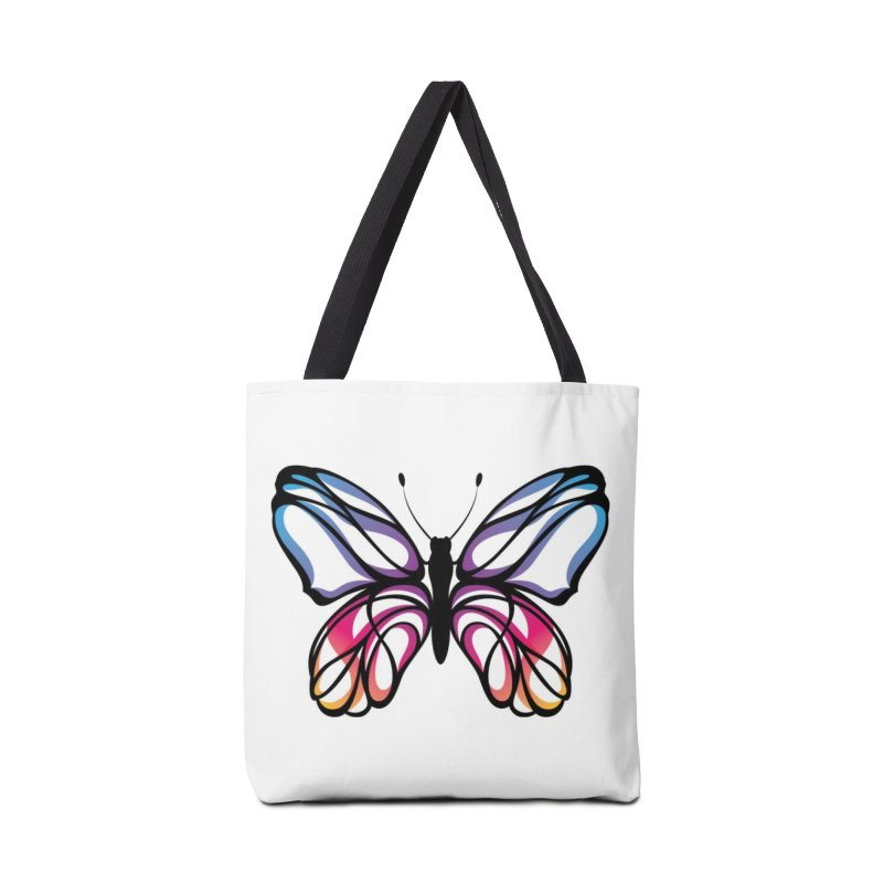 The Butterfly Accessories Bag by Eastern Cloud's Artist Shop