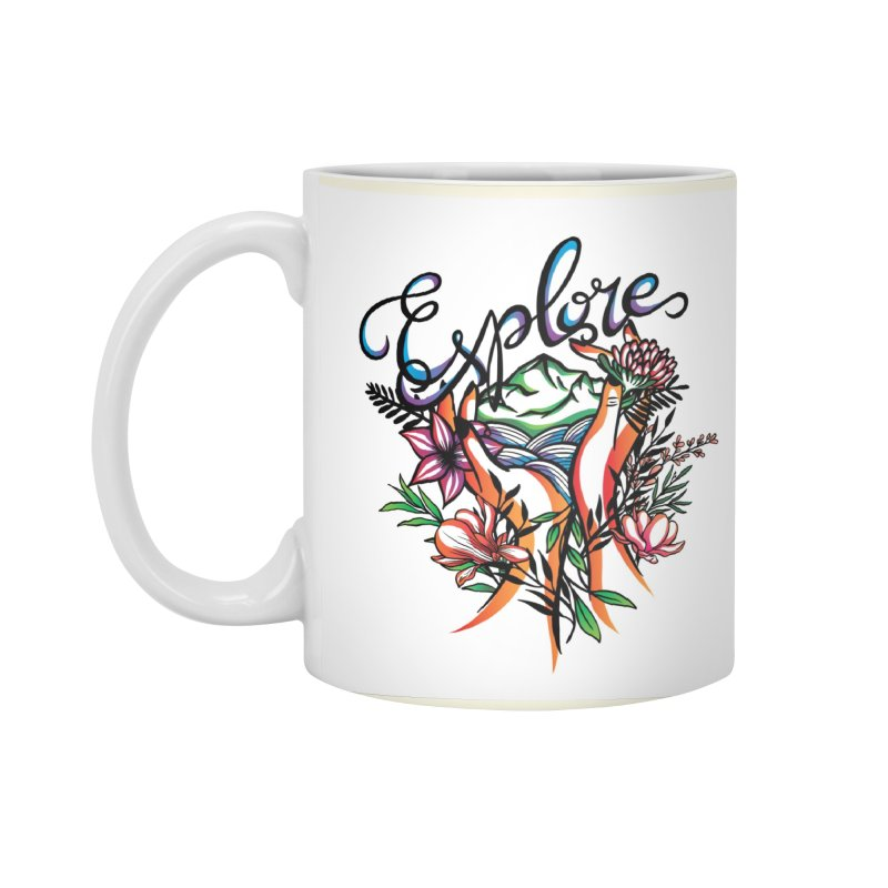 Explore the World Accessories Mug by Eastern Cloud's Artist Shop