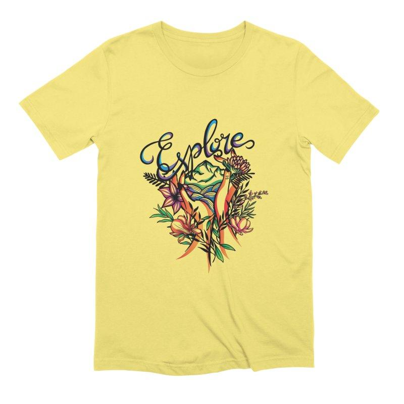 Explore the World Men's T-Shirt by Eastern Cloud's Artist Shop