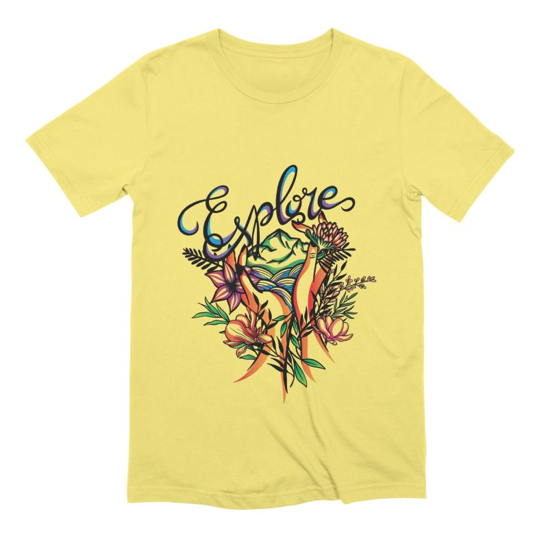 Explore the World Men's T-Shirt by Eastern Cloud's Artist Shop