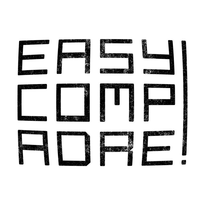 Easy Compadre! Black Logo Men's T-Shirt by Easy Compadre! Artist Shop
