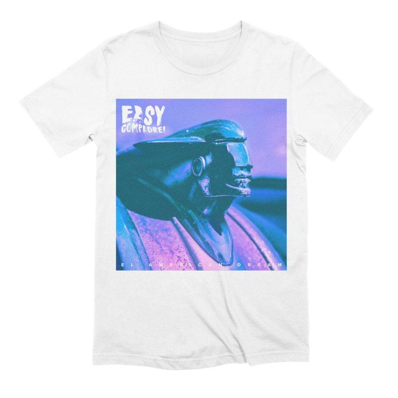 El American Dream - Single Art (Purple/Blue) Men's T-Shirt by Easy Compadre! Artist Shop