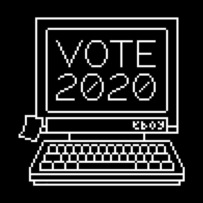 VOTE 2020 Computer Men's T-Shirt by eBoy