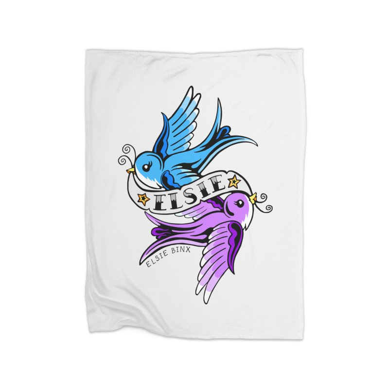 Swallows (2019) Home Blanket by ELSIE BINX SHOP