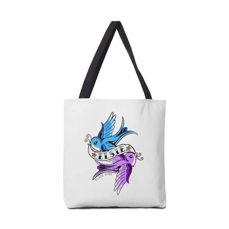 Swallows (2019) Accessories Bag by ELSIE BINX SHOP