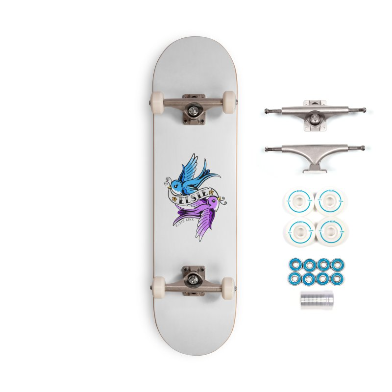 Swallows (2019) Accessories Skateboard by ELSIE BINX SHOP
