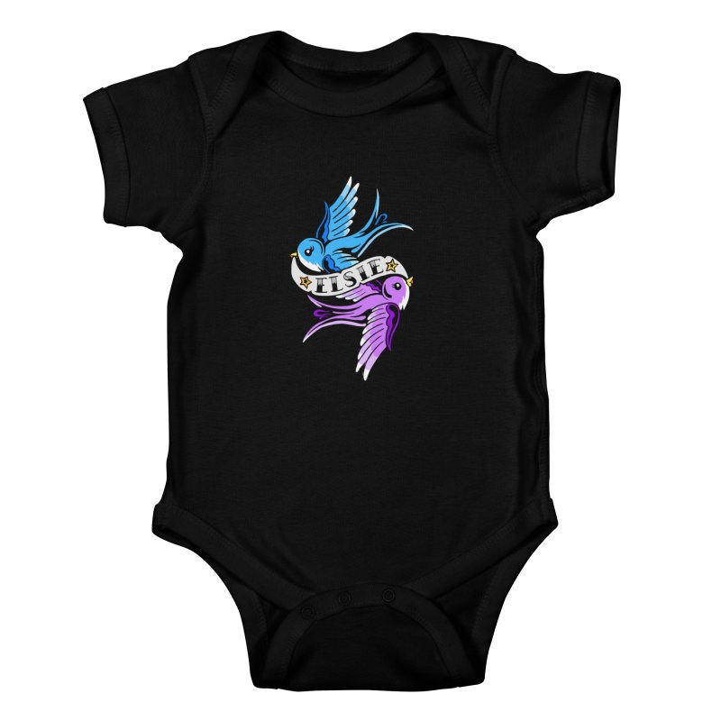 Swallows (2019) Kids Baby Bodysuit by ELSIE BINX SHOP