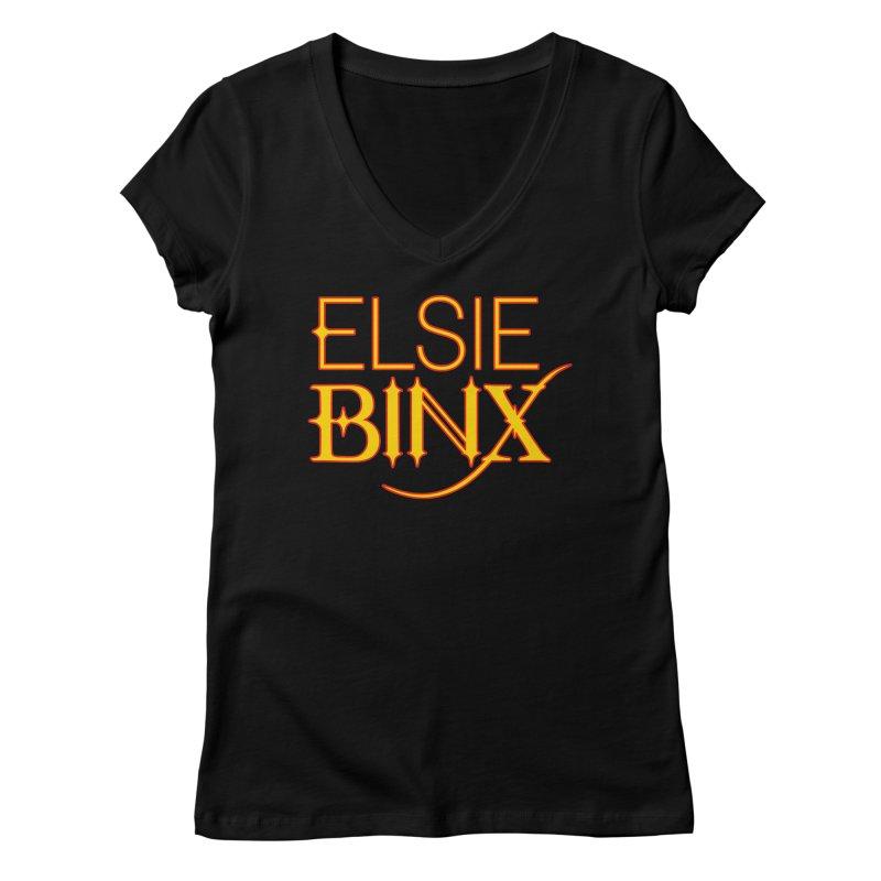 Electric Binx (2019) Women's V-Neck by ELSIE BINX SHOP