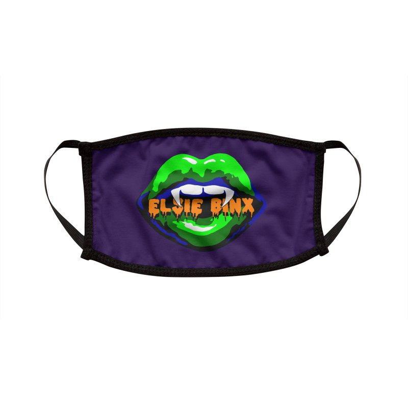 Vamp Lips (2019) Accessories Face Mask by ELSIE BINX SHOP