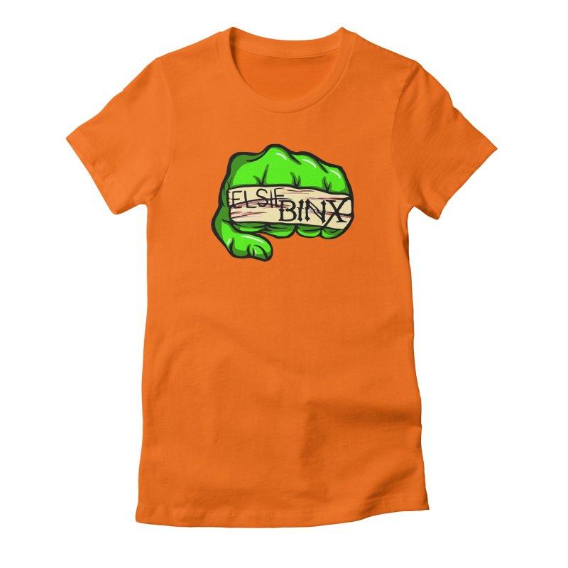 Binx Smash (2019) Women's T-Shirt by ELSIE BINX SHOP