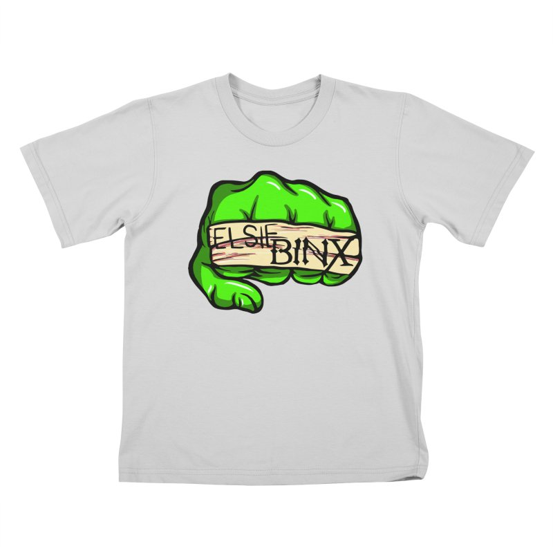 Binx Smash (2019) Kids T-Shirt by ELSIE BINX SHOP