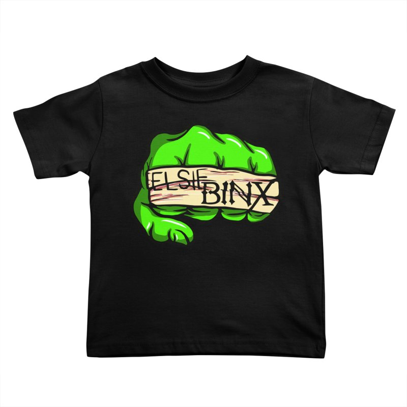 Binx Smash (2019) Kids Toddler T-Shirt by ELSIE BINX SHOP
