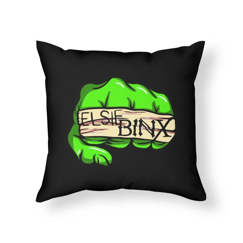 Binx Smash (2019) Home Throw Pillow by ELSIE BINX SHOP