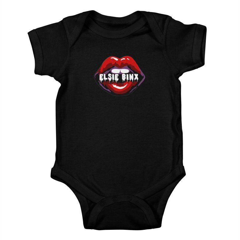 Original Lips (2018) Kids Baby Bodysuit by ELSIE BINX SHOP