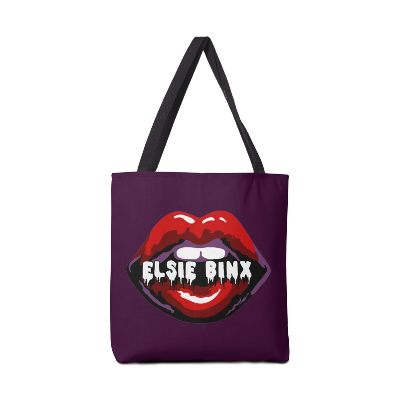 Original Lips (2018) Accessories Bag by ELSIE BINX SHOP
