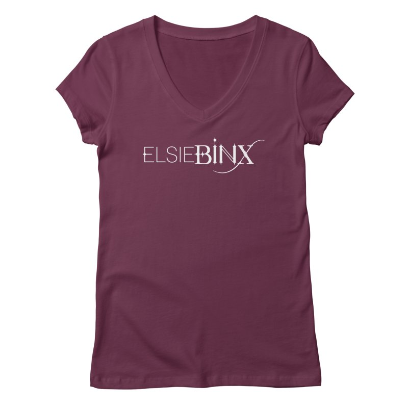 Legacy Logo (2015) Women's V-Neck by ELSIE BINX SHOP