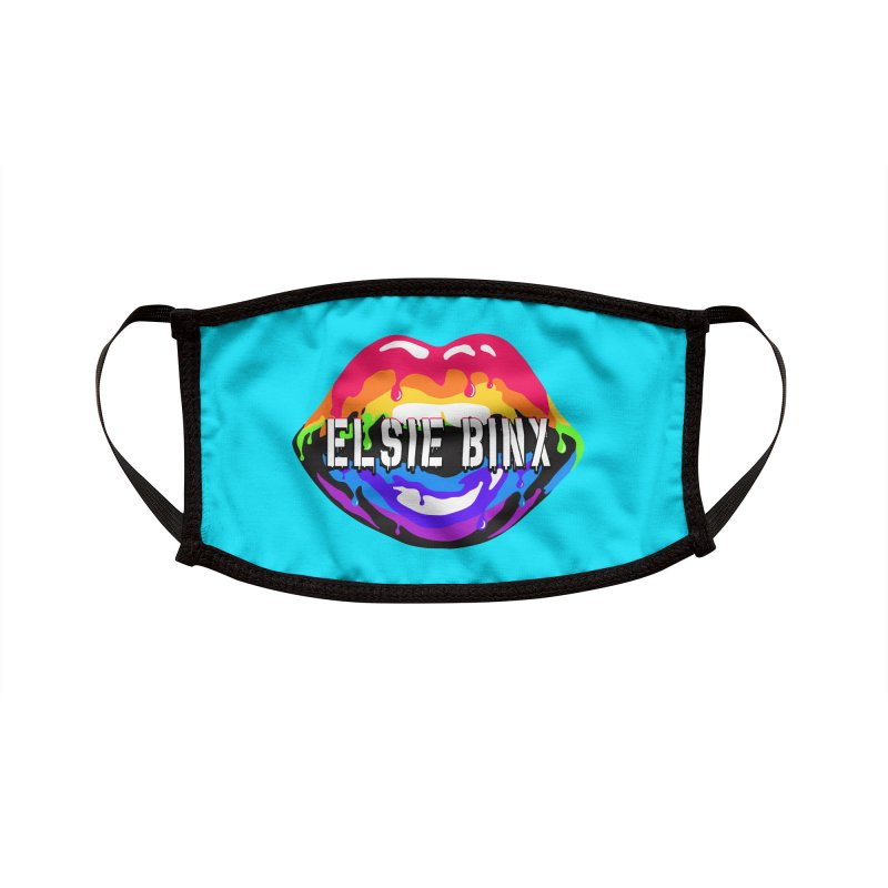 Pride Drip (2020) Accessories Face Mask by ELSIE BINX SHOP