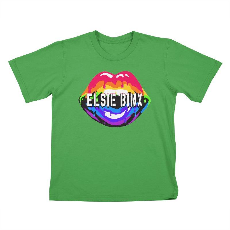 Pride Drip (2020) Kids T-Shirt by ELSIE BINX SHOP
