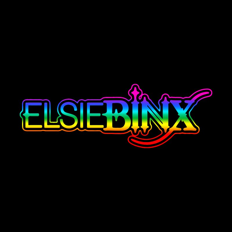 EBX x Pride Logo Accessories Bag by ELSIE BINX SHOP