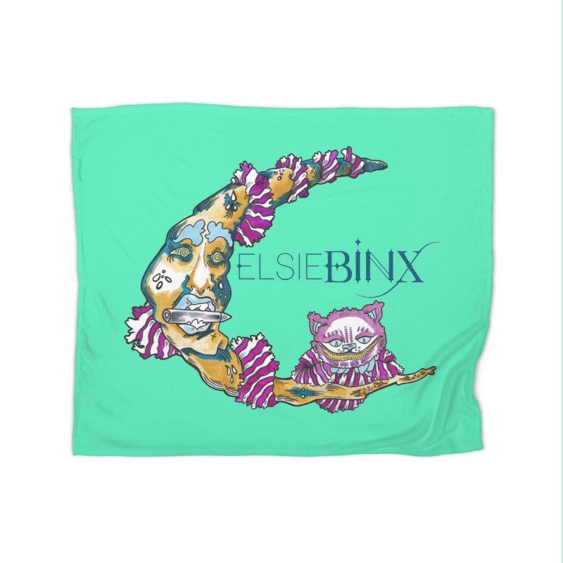 MoonCat (2015) Home Blanket by ELSIE BINX SHOP