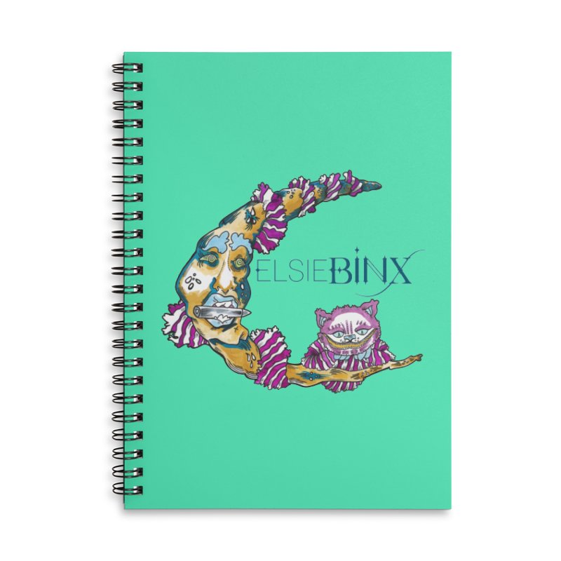 MoonCat (2015) Accessories Notebook by ELSIE BINX SHOP