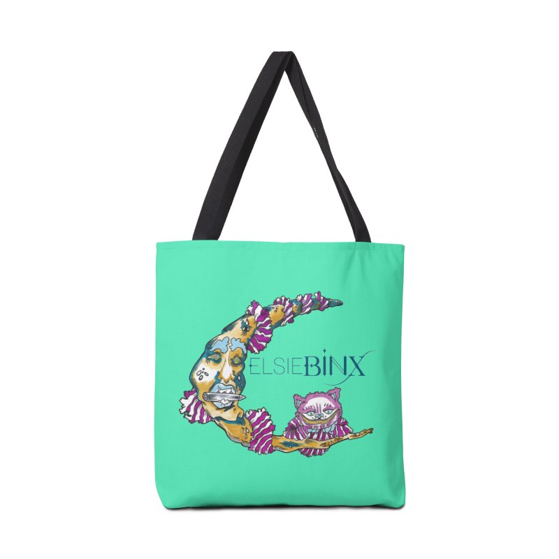 MoonCat (2015) Accessories Bag by ELSIE BINX SHOP