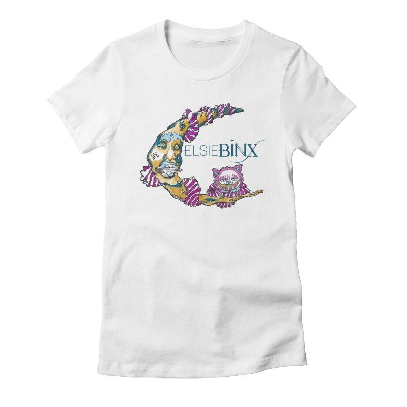 MoonCat (2015) Women's T-Shirt by ELSIE BINX SHOP