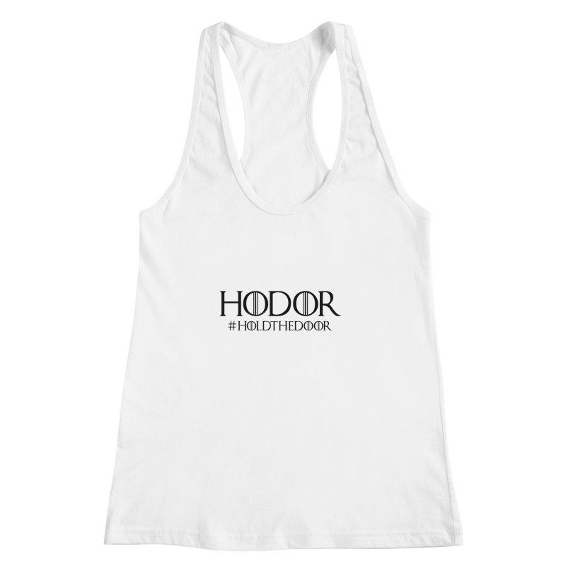 Hodor | Hold The Door   by ecajt's Artist Shop