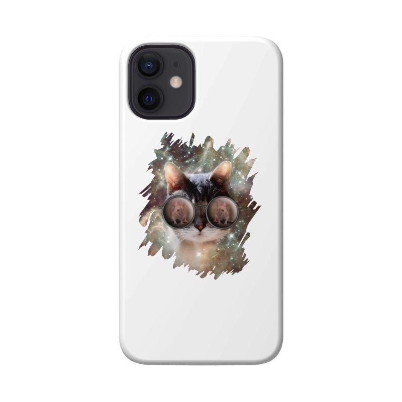 Funny COOL KITTY CAT - Mouse Sun Glasses Accessories Phone Case by EDDArts Shop