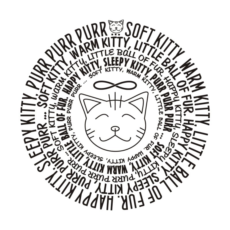 Theoretical Physics Nerd - Soft Kitty Song - black by EDDArts Shop