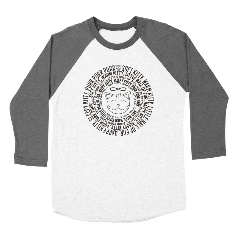 Theoretical Physics Nerd - Soft Kitty Song - black Women's Longsleeve T-Shirt by EDDArts Shop