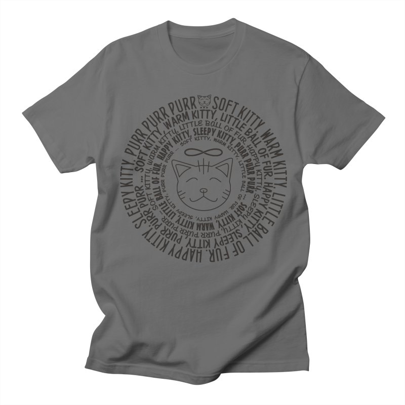 Theoretical Physics Nerd - Soft Kitty Song - black Women's Regular Unisex T-Shirt by EDDArts Shop