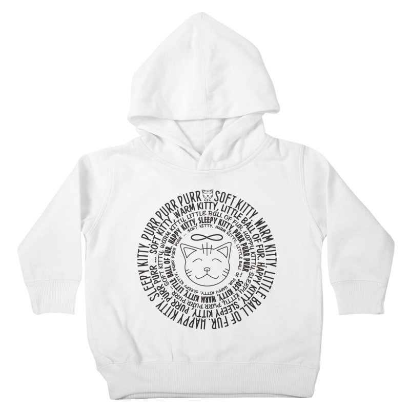 Theoretical Physics Nerd - Soft Kitty Song - black Kids Toddler Pullover Hoody by EDDArts Shop