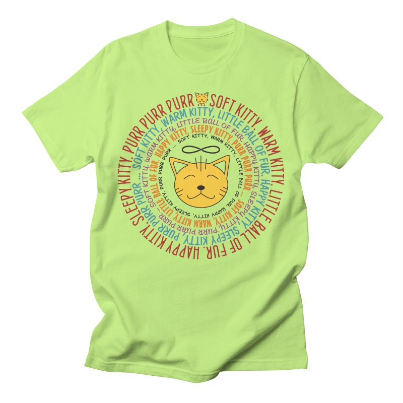 Theoretical Physics Nerd - Soft Kitty Song - colored Men's T-Shirt by EDDArts Shop