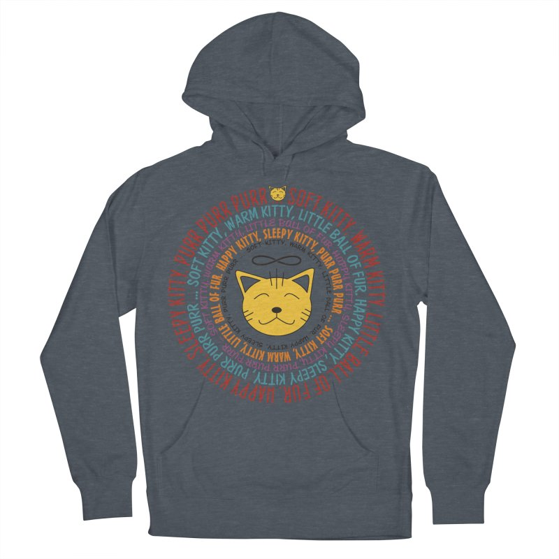 Theoretical Physics Nerd - Soft Kitty Song - colored Women's French Terry Pullover Hoody by EDDArts Shop