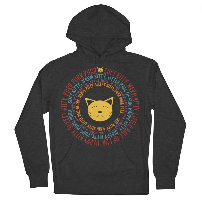 Theoretical Physics Nerd - Soft Kitty Song - colored Men's French Terry Pullover Hoody by EDDArts Shop
