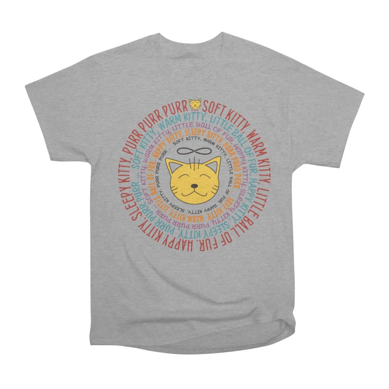 Theoretical Physics Nerd - Soft Kitty Song - colored Women's Heavyweight Unisex T-Shirt by EDDArts Shop