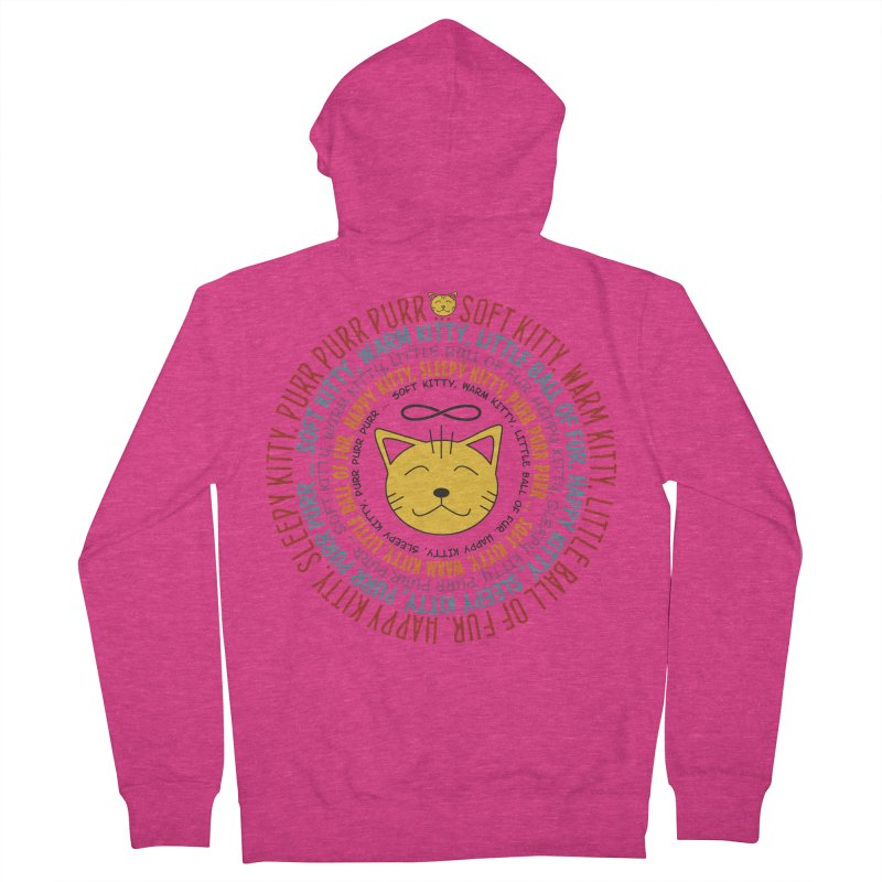 Theoretical Physics Nerd - Soft Kitty Song - colored Women's French Terry Zip-Up Hoody by EDDArts Shop