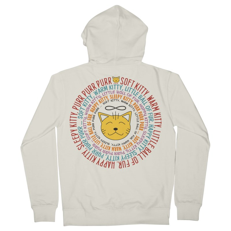 Theoretical Physics Nerd - Soft Kitty Song - colored Women's Zip-Up Hoody by EDDArts Shop