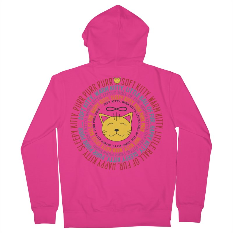 Theoretical Physics Nerd - Soft Kitty Song - colored Men's French Terry Zip-Up Hoody by EDDArts Shop