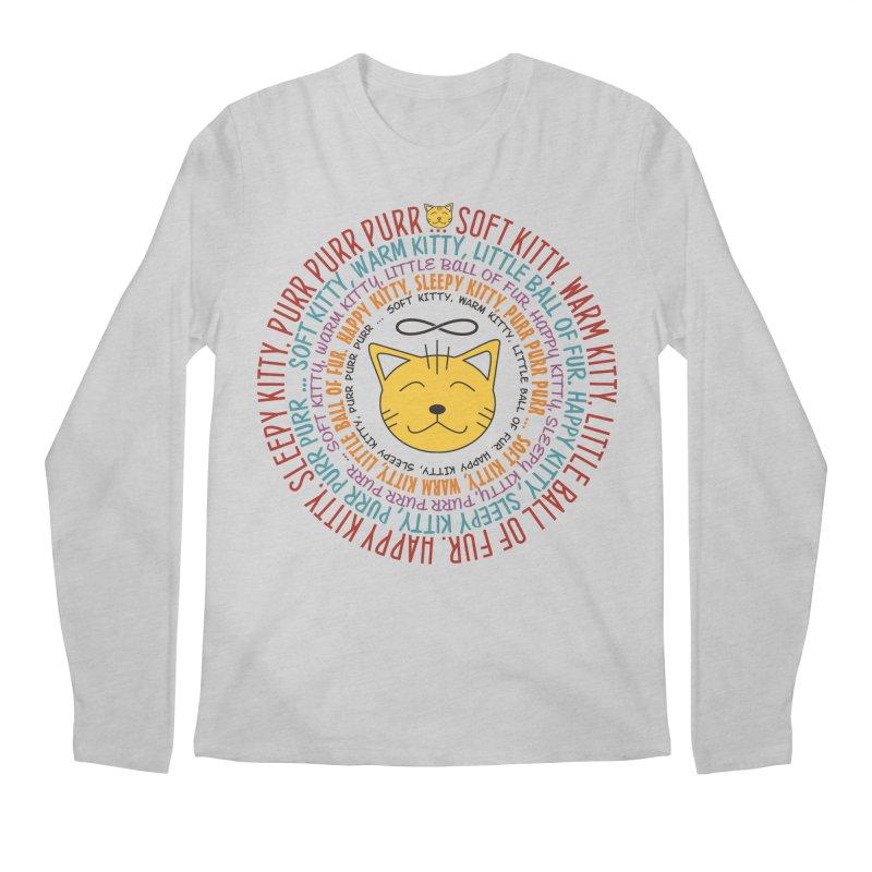 Theoretical Physics Nerd - Soft Kitty Song - colored Men's Regular Longsleeve T-Shirt by EDDArts Shop