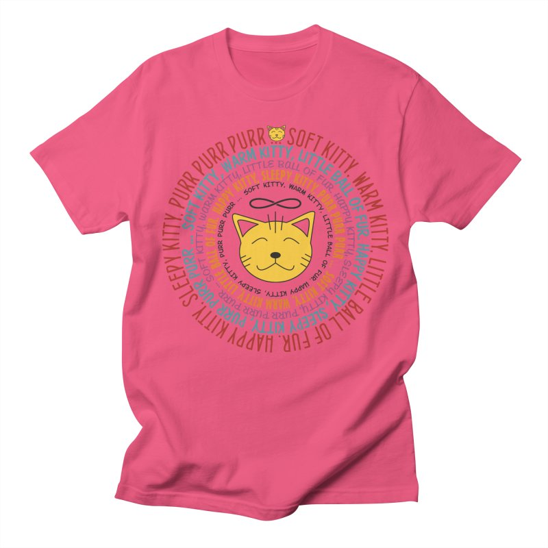 Theoretical Physics Nerd - Soft Kitty Song - colored Men's Regular T-Shirt by EDDArts Shop