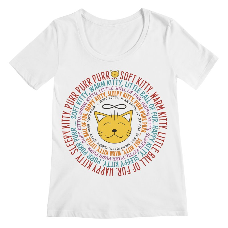 Theoretical Physics Nerd - Soft Kitty Song - colored Women's Regular Scoop Neck by EDDArts Shop