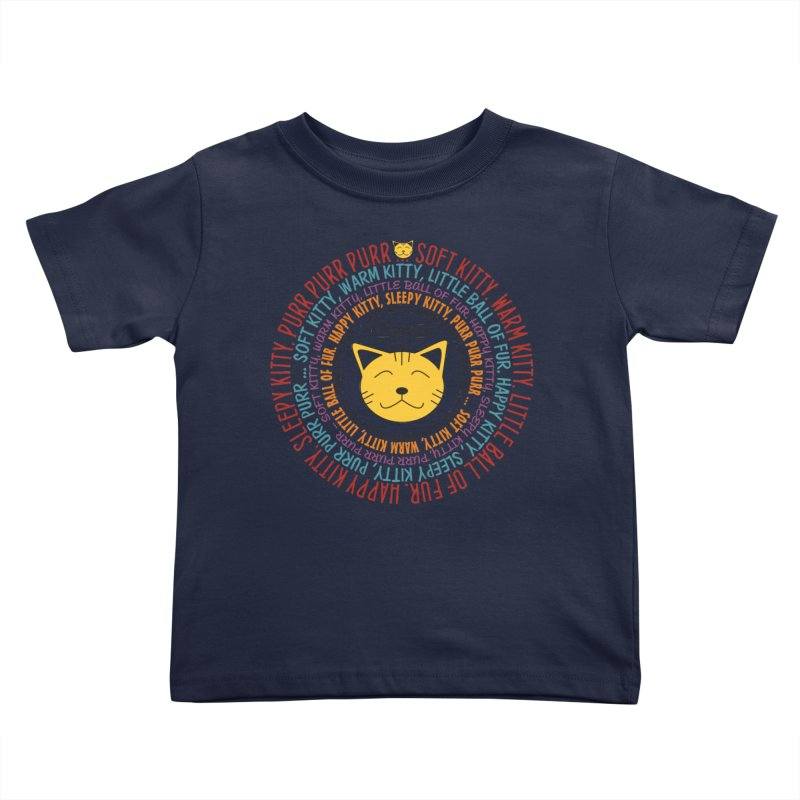 Theoretical Physics Nerd - Soft Kitty Song - colored Kids  by EDDArts Shop