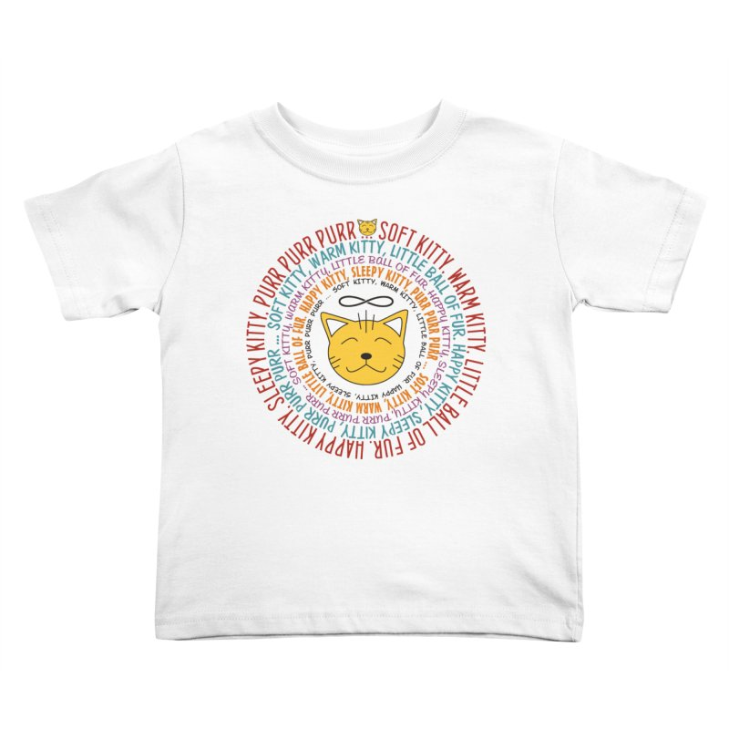 Theoretical Physics Nerd - Soft Kitty Song - colored Kids Toddler T-Shirt by EDDArts Shop