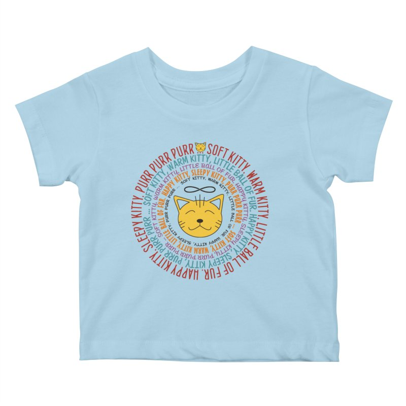Theoretical Physics Nerd - Soft Kitty Song - colored Kids Baby T-Shirt by EDDArts Shop